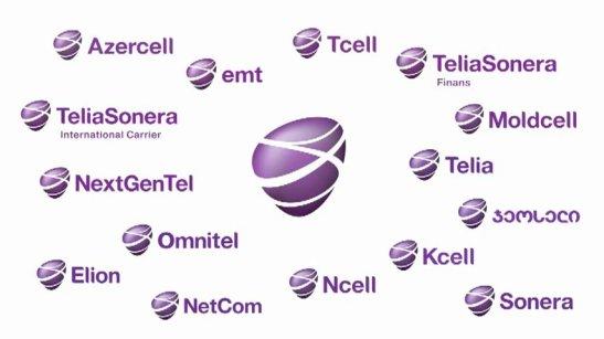TeliaSonera all names